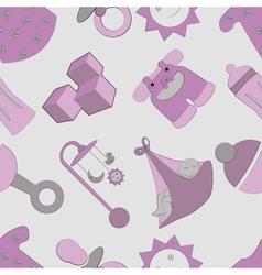 Childhood pattern vector