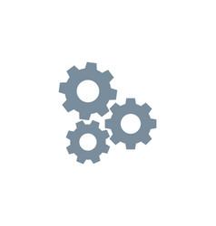 Gear icon wheel cog cogwheel machine vector
