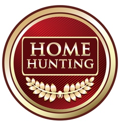Home Hunting vector image