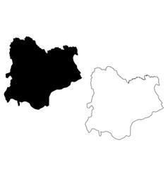 Kirklareli map vector