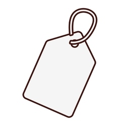 label or tag icon image vector image