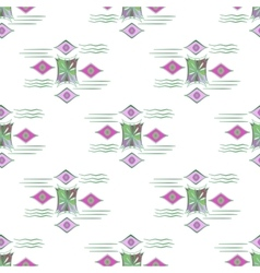 modern seamless colorful geometry pattern vector image