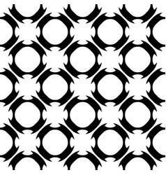 seamless pattern geometric texture ornament vector image