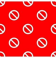 Seamless road sign pattern vector image