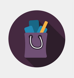 Shopping bag for sale vector
