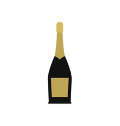 sparkling wine icon vector image