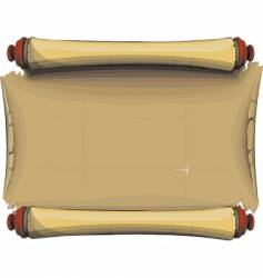 the ancient parchment vector image