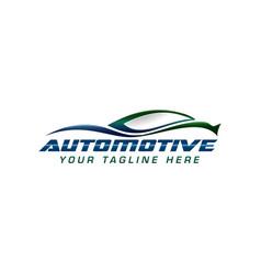 automotive logo vector image