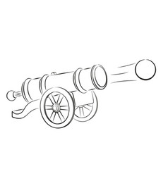 Cannon and nucleus vector