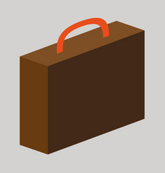flat icon on theme arabic business office suitcase vector image