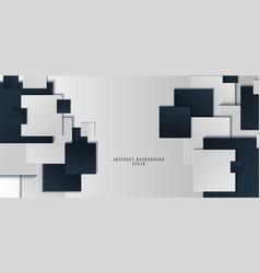 template banner web design background blue vector image