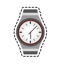 Wrist watch icon image vector