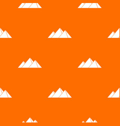 pyramids in giza pattern seamless vector image vector image