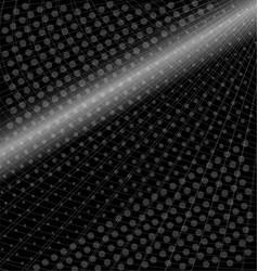 black metallic grid square background vector image