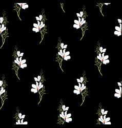 bright magnolia seamless pattern vector image