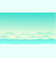 Game background style desert collection vector