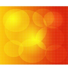 Orange dot background vector