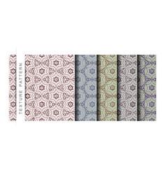 Set of the texture pattern wallpaper pattern backg vector