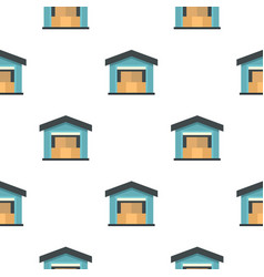warehouse pattern flat vector image