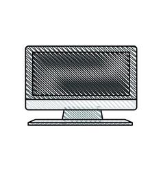 television display plasma image vector image