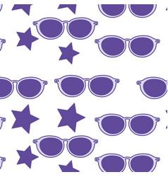 glasses background design vector image