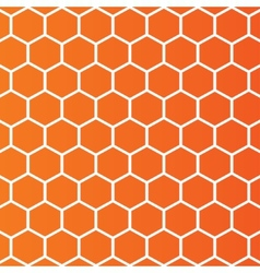 Honeycombs background Abstract rhombus cell vector image vector image