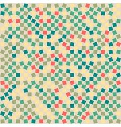 Retro Squared Background vector image