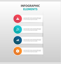 Abstract business infographics elements vector