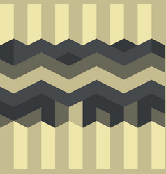 abstract geometric pattern gothic art deco vector image
