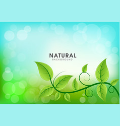 Abstract natural background vector