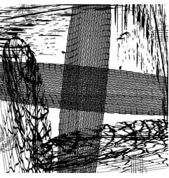Circular textures set vector