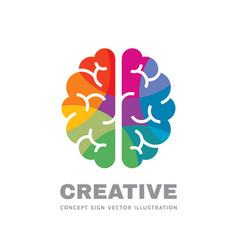 Creative idea - business logo template vector