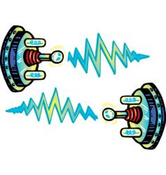 Electrode cartoon vector