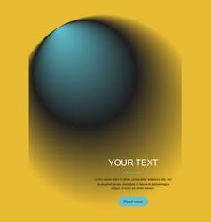 Gradient abstract circle vector