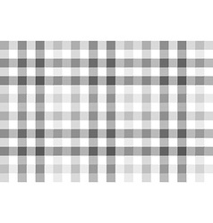 Gray check plaid seamless pattern vector