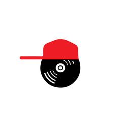 music-logo vector image