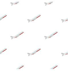 Plane pattern flat vector