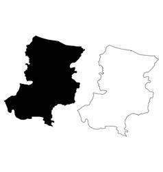 Sakarya map vector