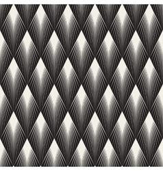 Seamless Rhombus Shape Sunburst Lines vector