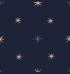 stars seamless pattern vector image