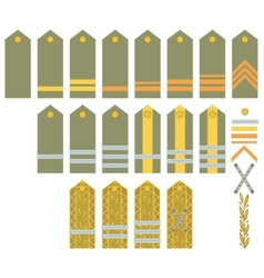 Insignia of the Romanian Army vector image vector image