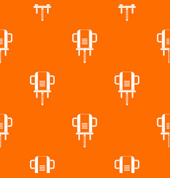 boer drill pattern seamless vector image