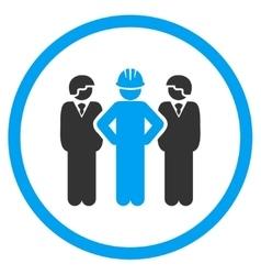 Developer Team Icon vector image