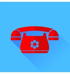 Red Phone vector image vector image