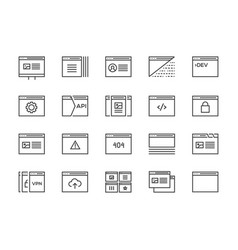 127 icons shopping src vector image