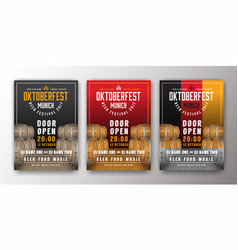 2017 oktoberfest beer festival advertisement vector
