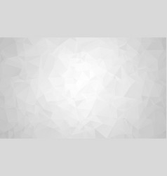abstract white gray polygon for background vector image