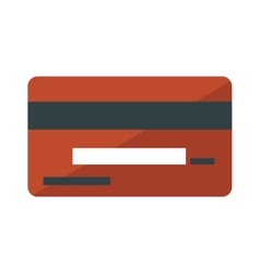 money card isolated vector image