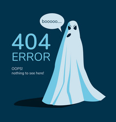 Page not found web site error banner vector
