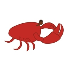 sea food icon vector image